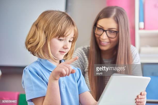 education at her fingertips