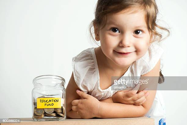 Education Fund in Jar