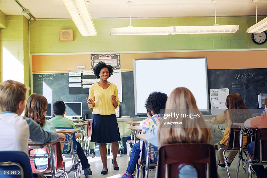 Education is the most powerful weapon for changing the world : Stock Photo