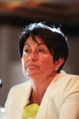 Education Minister Hekia Parata announcing that seven Christchurch schools will close and 12 will merge to create six schools as part of the...