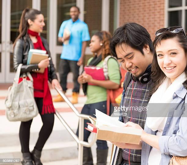 教育: 多民族の学生は、大学のキャンパスがございます。