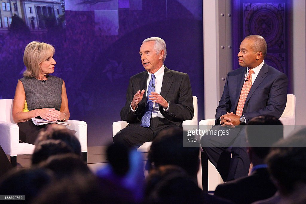 Andrea Mitchell Chief Foreign Affairs Correspondent for NBC News Steve Beshear Governor of Kentucky and Deval Patrick Governor of Massachusetts