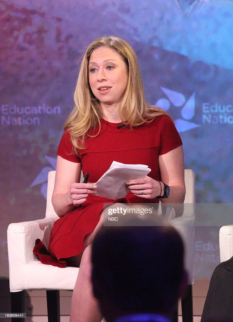 <a gi-track='captionPersonalityLinkClicked' href=/galleries/search?phrase=Chelsea+Clinton&family=editorial&specificpeople=119698 ng-click='$event.stopPropagation()'>Chelsea Clinton</a>, Special Correspondent for NBC News. --
