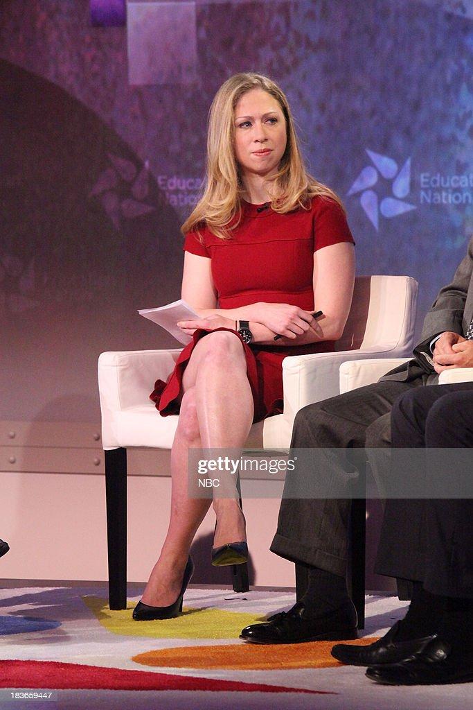 Chelsea Clinton, Special Correspondent for NBC News. --