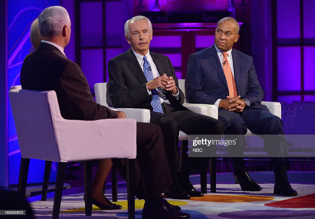 Mike Pence Governor of Indiana Andrea Mitchell Chief Foreign Affairs Correspondent for NBC News Steve Beshear Governor of Kentucky and Deval Patrick...