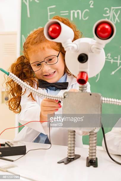 Education:  Retro revival scientist in lab.  Electronics.
