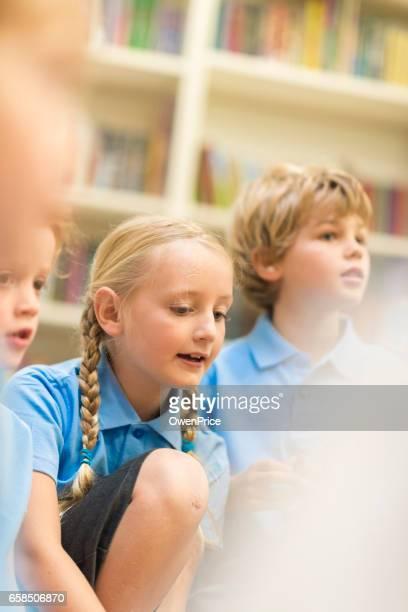 Education UK Primary School Music Lesson