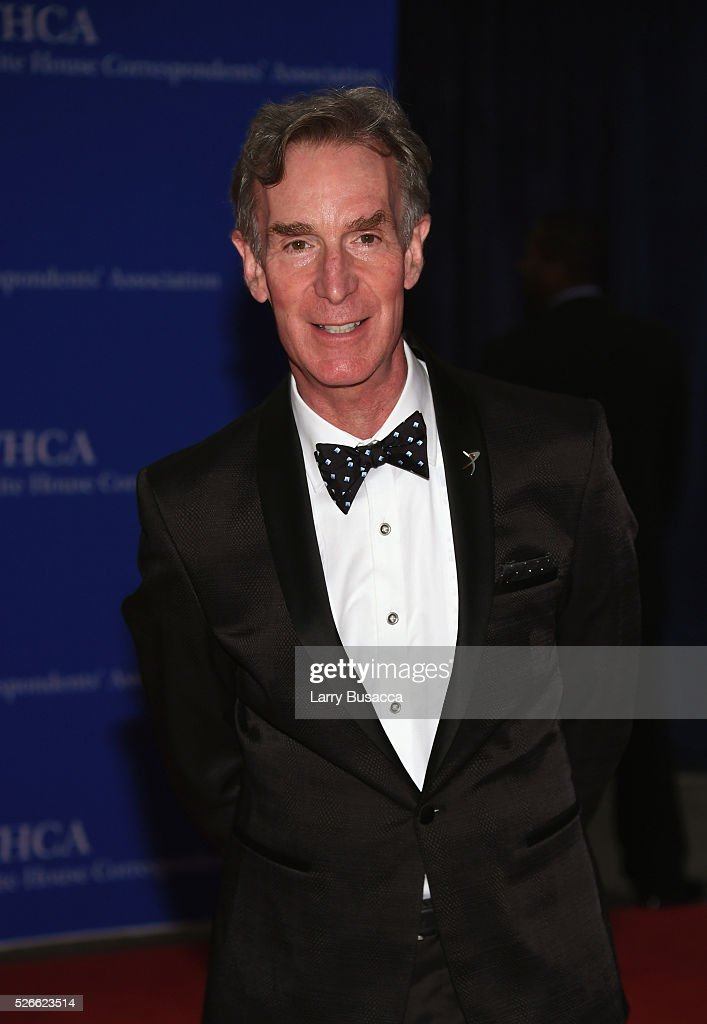 Educator Bill Nye attends the 102nd White House Correspondents' Association Dinner on April 30, 2016 in Washington, DC.