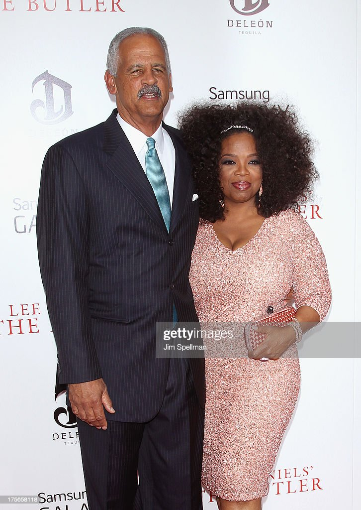Educator Stedman Graham and Oprah Winfrey attend Lee Daniels' 'The Butler' New York Premiere at Ziegfeld Theater on August 5, 2013 in New York City.