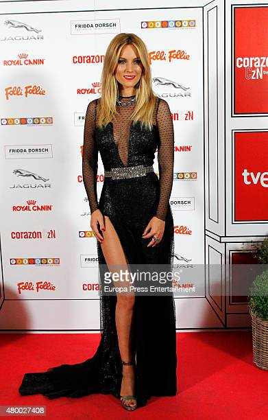 Edurne attends 'Corazon Solidario' Awards 2015 on July 8 2015 in Madrid Spain