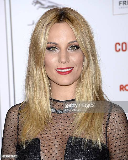 Edurne attends the 2015 Corazon Solidario Awards at the Miguel Angel Hotel on July 8 2015 in Madrid Spain