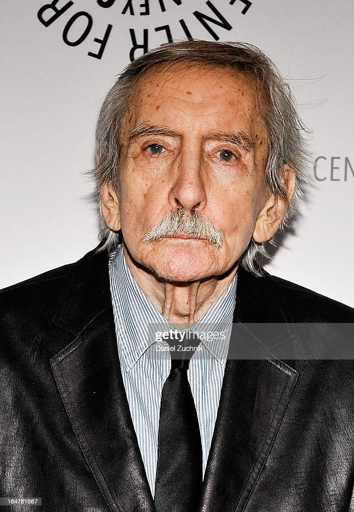 <a gi-track='captionPersonalityLinkClicked' href=/galleries/search?phrase=Edward+Albee+-+Playwright&family=editorial&specificpeople=220644 ng-click='$event.stopPropagation()'>Edward Albee</a> attends The Paley Center For Media Presents: 'The Stages Of <a gi-track='captionPersonalityLinkClicked' href=/galleries/search?phrase=Edward+Albee+-+Playwright&family=editorial&specificpeople=220644 ng-click='$event.stopPropagation()'>Edward Albee</a>' at Paley Center For Media on March 27, 2013 in New York City.