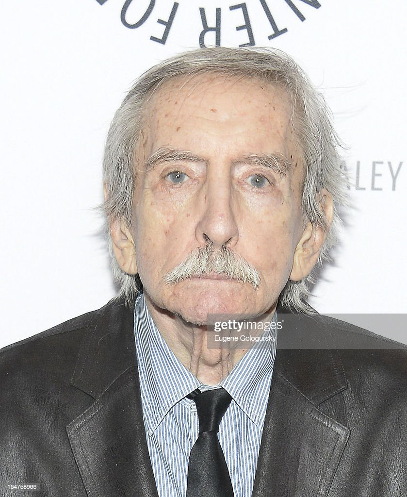 <a gi-track='captionPersonalityLinkClicked' href=/galleries/search?phrase=Edward+Albee+-+Playwright&family=editorial&specificpeople=220644 ng-click='$event.stopPropagation()'>Edward Albee</a> attends 'The Stages Of <a gi-track='captionPersonalityLinkClicked' href=/galleries/search?phrase=Edward+Albee+-+Playwright&family=editorial&specificpeople=220644 ng-click='$event.stopPropagation()'>Edward Albee</a>' at Paley Center For Media on March 27, 2013 in New York City.
