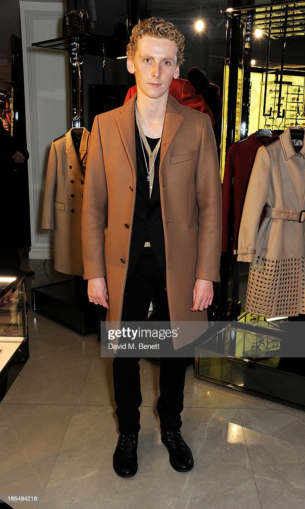Edward Ashley attends the BAFTA 'Breakthrough Brits' event at Burberry 121 Regent Street, London on October 21, 2013 in London, United Kingdom.