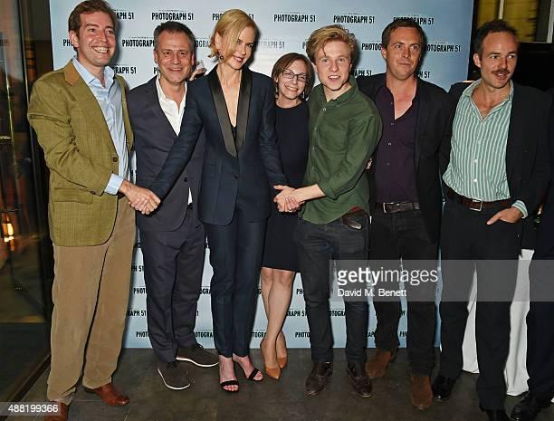 Edward Bennett director MIchael Grandage Nicole Kidman playwright Anna Ziegler Will Attenborough Stephen Campbell Moore and Patrick Kennedy attend...