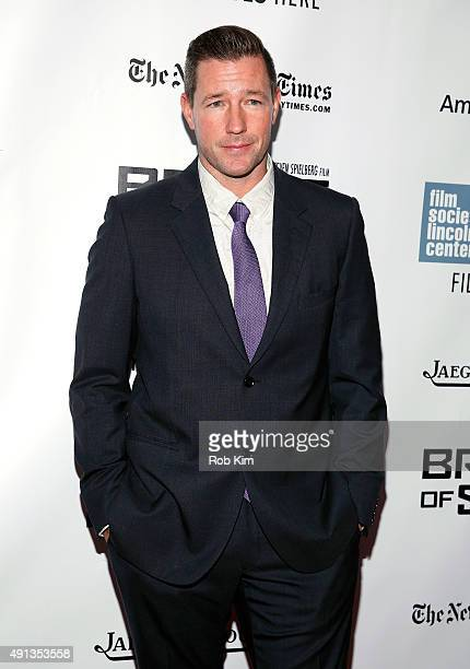 Edward Burns attends the 53rd New York Film Festival 'Bridge Of Spies' Arrivals at Alice Tully Hall Lincoln Center on October 4 2015 in New York City