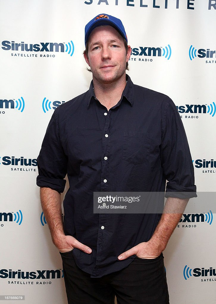 Edward Burns visits the SiriusXM Studios on December 4, 2012 in New York City.