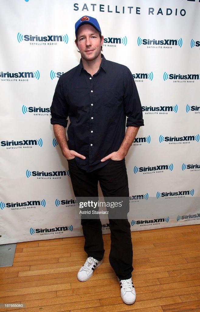 Edward Burns visits the SiriusXM Studios on December 4, 2012 in New York City.