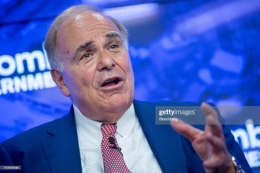 Edward 'Ed' Rendell, former governor of Pennsylvania, speaks during a panel discussion at a Bloomberg Government event on U.S. infrastructure in Washington, D.C., U.S., on Monday, May 11, 2015. The event was titled 'America on the Move: Investing in America's Economy.' Photographer: Andrew Harrer/Bloomberg via Getty Images