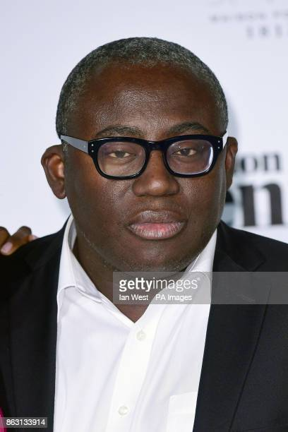 Edward Enninful at the London Evening Standard's annual Progress 1000 in partnership with Citi and sponsored by Invisalign UK held in London PRESS...