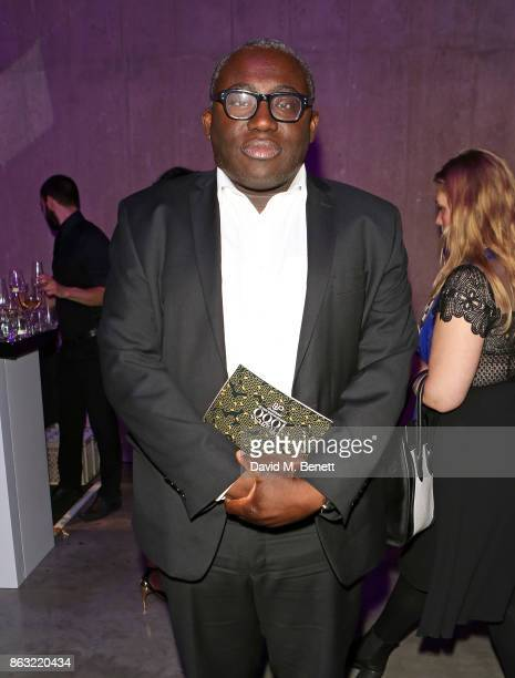 Edward Enninful attends The London Evening Standard's Progress 1000 London's Most Influential People in partnership with Citi on October 19 2017 in...