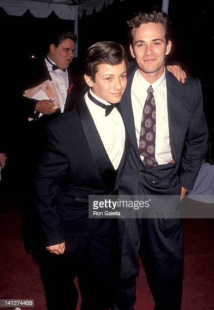 Edward Furlong and Luke Perry at the 18th Annual People's Choice Awards Universal Studios Universal City