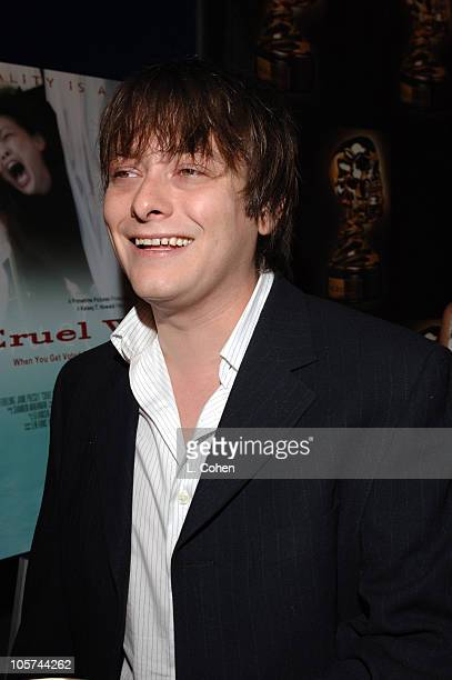 Edward Furlong during 'Cruel World' Premiere at ScreamFest Arrivals at Lowes Univresal Studios Cinemas in Universal City California United States