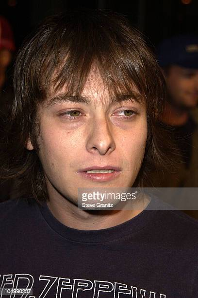 Edward Furlong during 'Jackass The Movie' Premiere at Cinerama Dome in Hollywood California United States