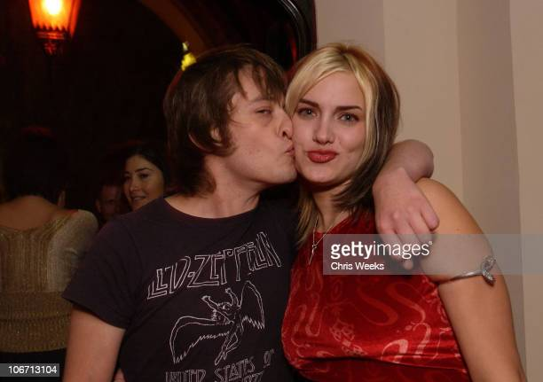 Edward Furlong during Party Announcing the Partnership Between Fashion Designer Stella McCartney and Absolut at Chateau Marmont Hotel in West...