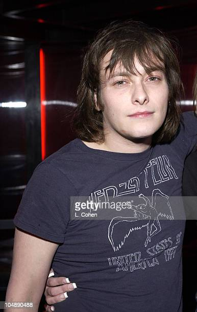 Edward Furlong during SPUN Premiere AfterParty at SMIRNOFF ICE TRIPLE BLACK Lounge at the Ivar at Ivar in Hollywood CA United States