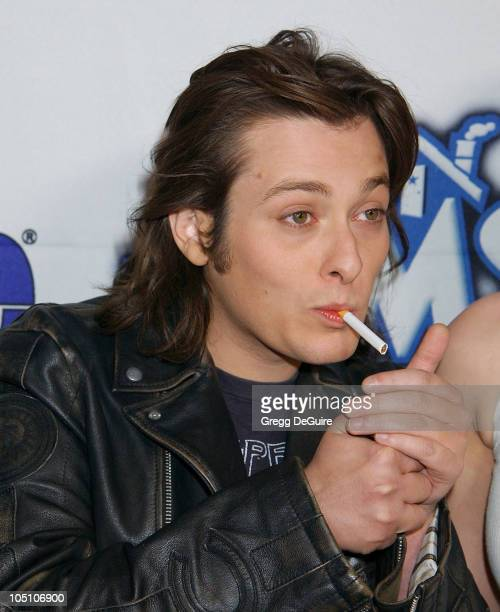 Edward Furlong during Teen People Celebrates The 6th Annual '25 Hottest Stars Under 25' at Lucky Strike Lanes in Hollywood California United States