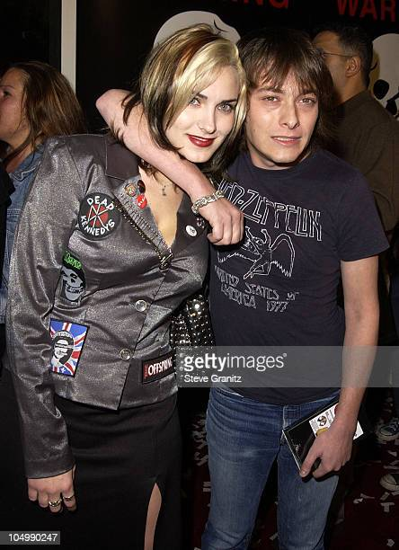 Edward Furlong guest during 'Jackass The Movie' Premiere at Cinerama Dome in Hollywood California United States