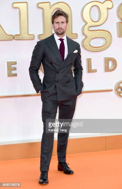Edward Holcroft attends the 'Kingsman The Golden Circle' World Premiere at Odeon Leicester Square on September 18 2017 in London England