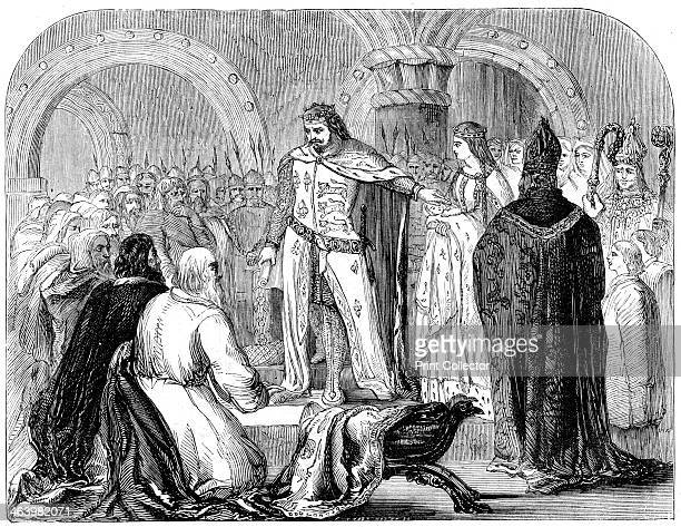 Edward I presenting his infant son to the Welsh 1284 Edward reigned from 1272 to 1307 ascending the throne of England after the death of his father...