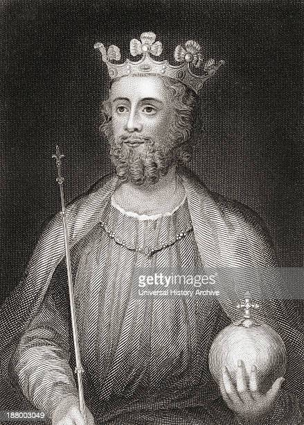 Edward Ii 1284 – 1327 Aka Edward Of Caernarfon King Of England From The History Of England Published 1859