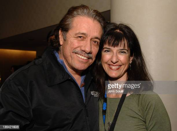 Edward James Olmos and Kathryn Galan during 'Walkout' Screening Presented by the National Association of Latino Independent Producers Conference 7...