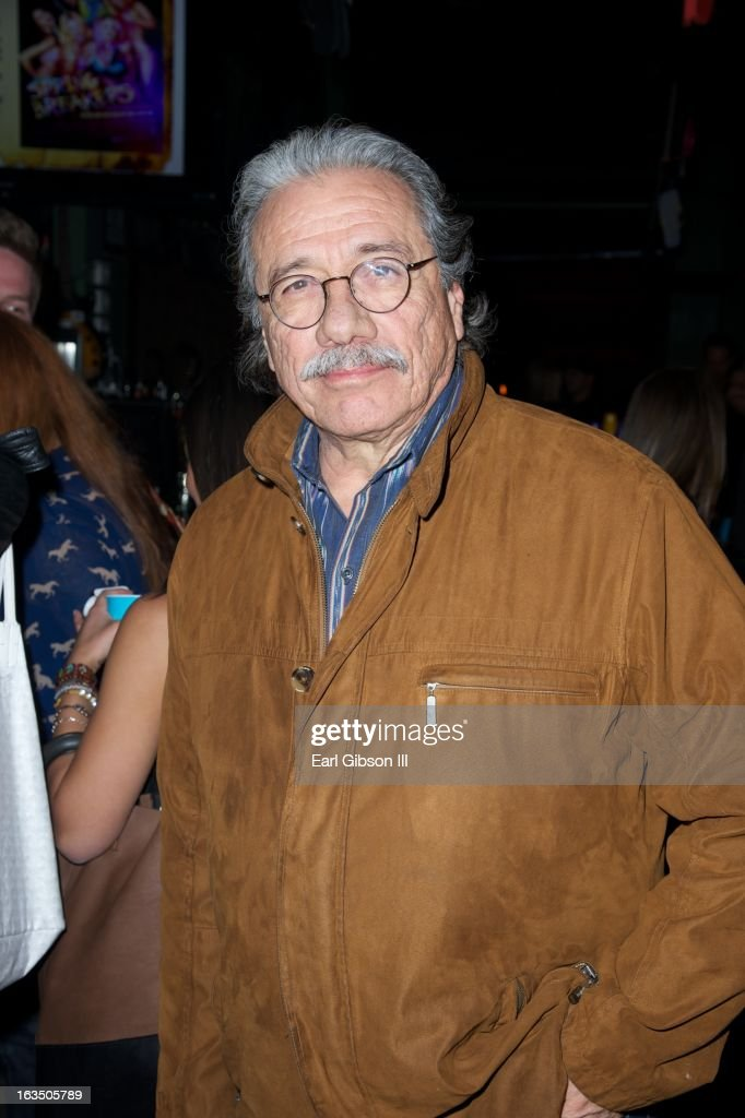 <a gi-track='captionPersonalityLinkClicked' href=/galleries/search?phrase=Edward+James+Olmos&family=editorial&specificpeople=213817 ng-click='$event.stopPropagation()'>Edward James Olmos</a> attends 'The Branding Bee Presents The World Premiere After-Party of 'Spring Breakers' Live From The Hive' at The Ranch on March 10, 2013 in Austin, Texas.