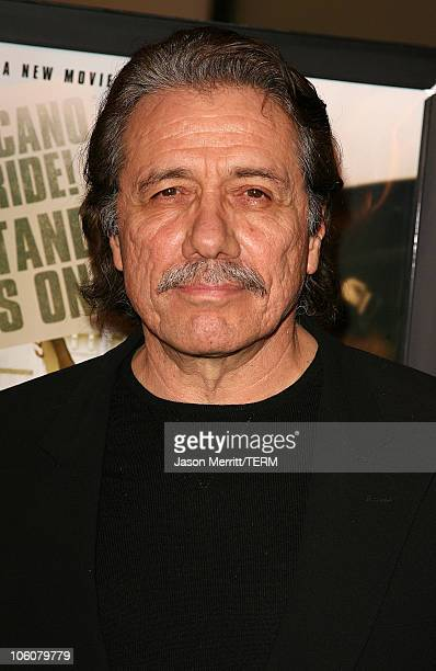 Edward James Olmos during HBO Films 'Walkout' Los Angeles Premiere Arrivals at Cinerama Dome in Hollywood California United States