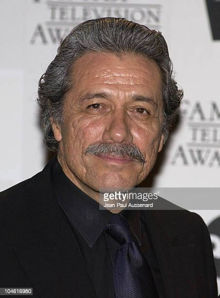Edward James Olmos during The 4th Annual Family Television Awards Press Room and Arrivals at Beverly Hilton Hotel in Beverly Hills California United...