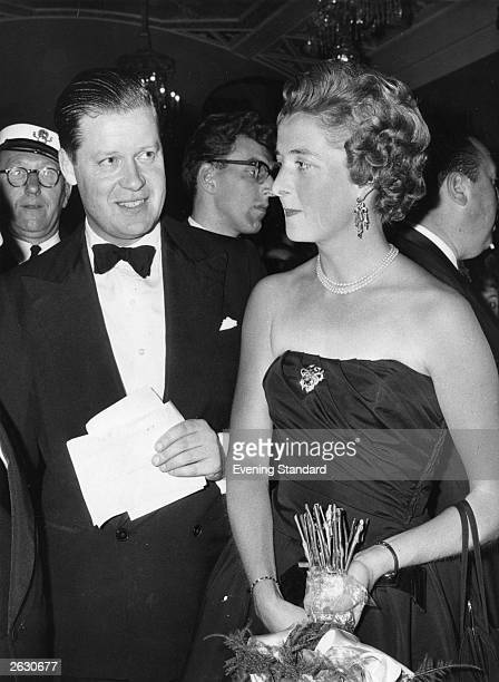 Edward John Spencer the 8th Earl Spencer father of Lady Diana Frances Spencer with his first wife