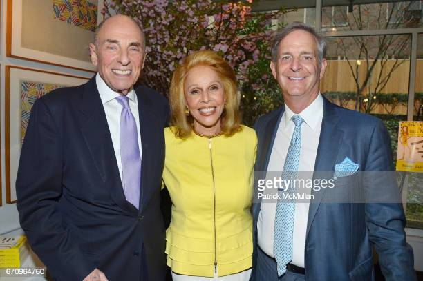Edward Klein Susan Silver and John LeBoutillier attend Susan Silver's Memoir Signing Celebration at Michael's on April 20 2017 in New York City