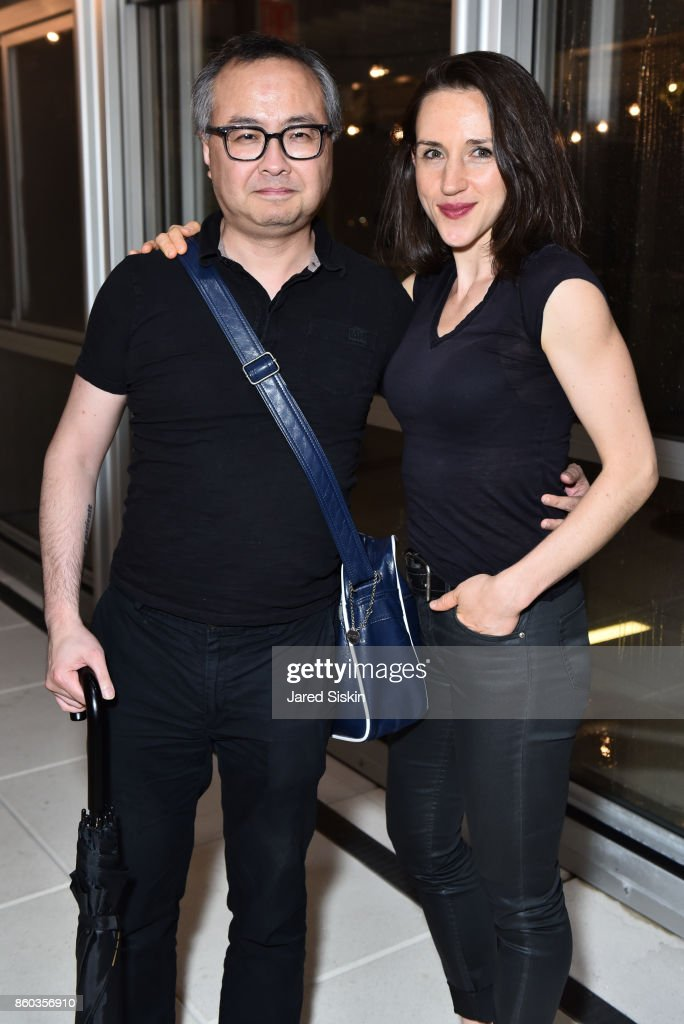 Edward Leung and Belinda McGuire attend Joshua Beamish + MOVETHECOMPANY Premieres 'Saudade' in NYC at Brooklyn Academy of Music on October 11, 2017 in New York City.