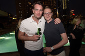 Edward LloydDavies attends Orlebar Brown presents the Spring/Summer 2017 Collection in partnership with Bold New York and Lifetime Athletic At Sky on...
