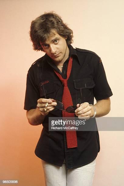 Edward Mahoney aka Eddie Money posing for the camera in 1976 in San Francisco California