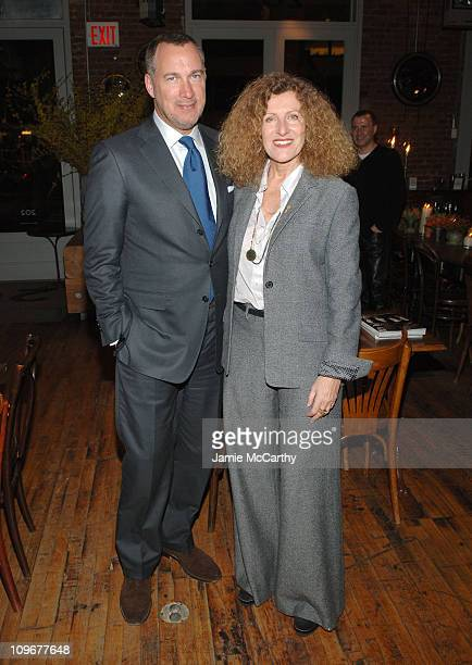 Edward Menicheschi Publisher and Vice President of 'Vanity Fair' and Nicole Farhi