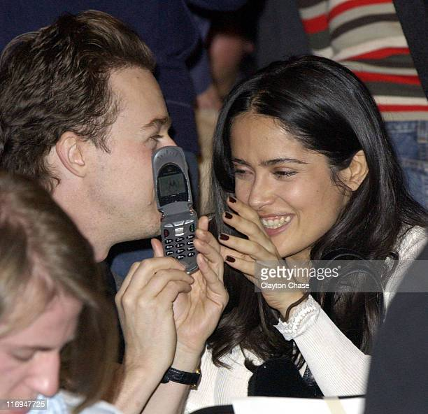 Edward Norton and director/executive producer Salma Hayek