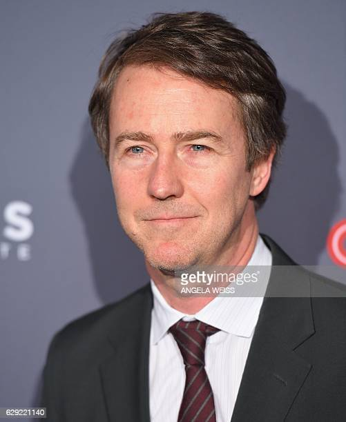 Edward Norton attends the 10th Annual CNN Heroes AllStar Tribute at the American Museum of Natural History on December 11 2016 in New York City / AFP...