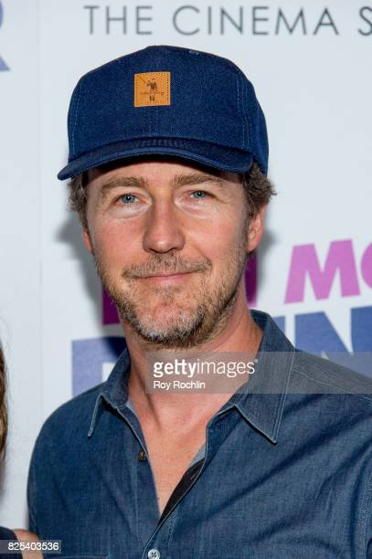 Edward Norton attends the screening of 'Fun Mom Dinner' at Landmark Sunshine Cinema on August 1 2017 in New York City