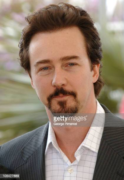 Edward Norton during 2005 Cannes Film Festival 'Down In The Valley' Photocall at Palais Du Festival in Cannes France