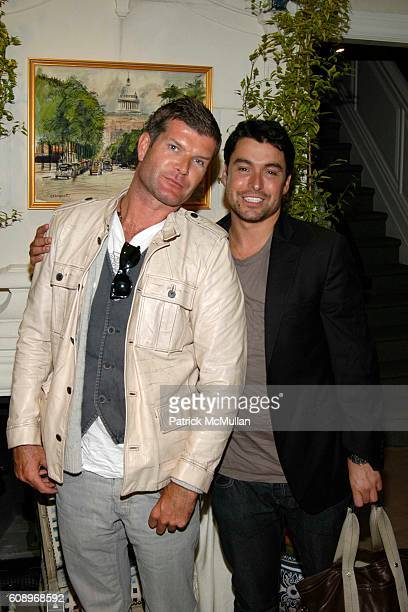 Edward O'Sullivan and Alex Badia attend RACHEL ROY Fall 2007 Collection Preview Party at The Townhouse at 20 East 63rd Street on May 17 2007 in New...
